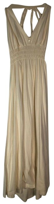 Item - White Halter Mid-length Casual Maxi Dress Size 2 (XS)