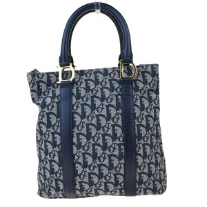Dior Made In Italy Tote in Navy blue