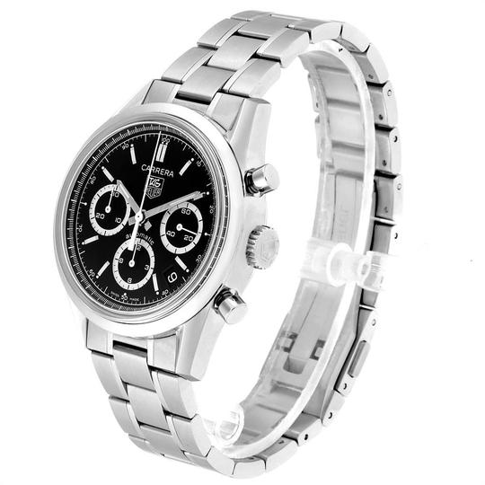 TAG Heuer Tag Heuer Carrera Black Dial Chronograph Mens Watch CV2113 Card Image 3