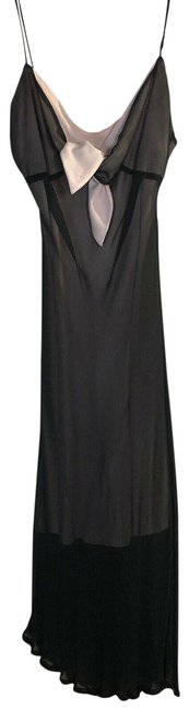 Item - Pink Black Bead Slip Mid-length Night Out Dress Size 4 (S)