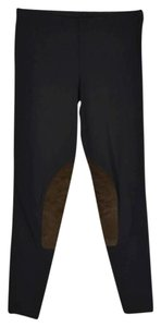 Ralph Lauren Rugby Black Brown Leggings