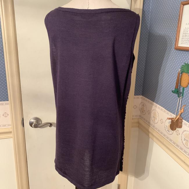 Eileen Fisher Silk Tank Sequined Tank Tunic Image 2