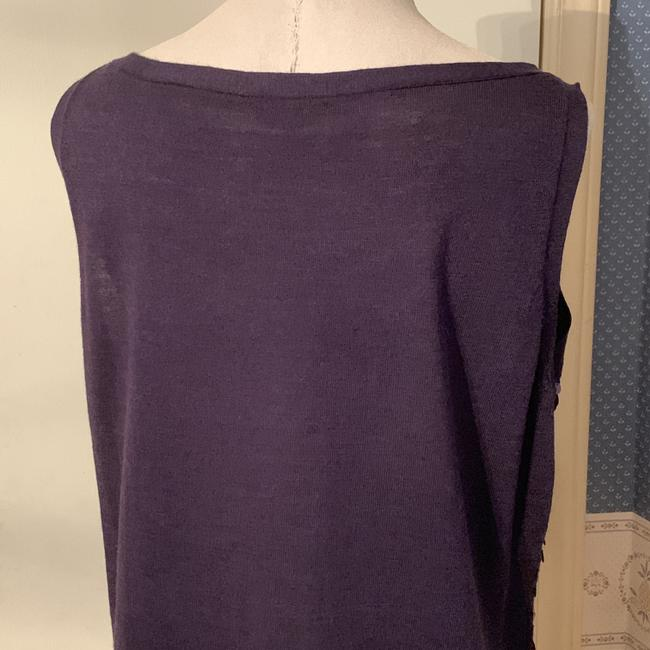 Eileen Fisher Silk Tank Sequined Tank Tunic Image 3