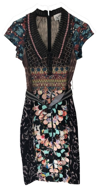 Item - Multicolor Beguile By Mid-length Cocktail Dress Size 2 (XS)