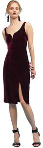 Anthropologie Velvet Coctail Holiday Party Dress