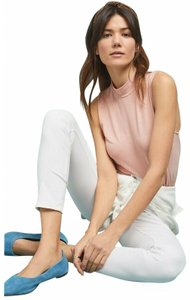 Anthropologie High-rise Ankle Jeans Skinny Pants White