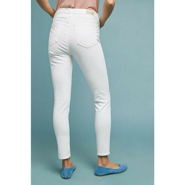 Anthropologie High-rise Ankle Jeans Skinny Pants White Image 1