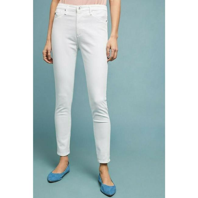 Anthropologie High-rise Ankle Jeans Skinny Pants White Image 2