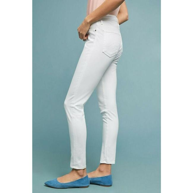 Anthropologie High-rise Ankle Jeans Skinny Pants White Image 3