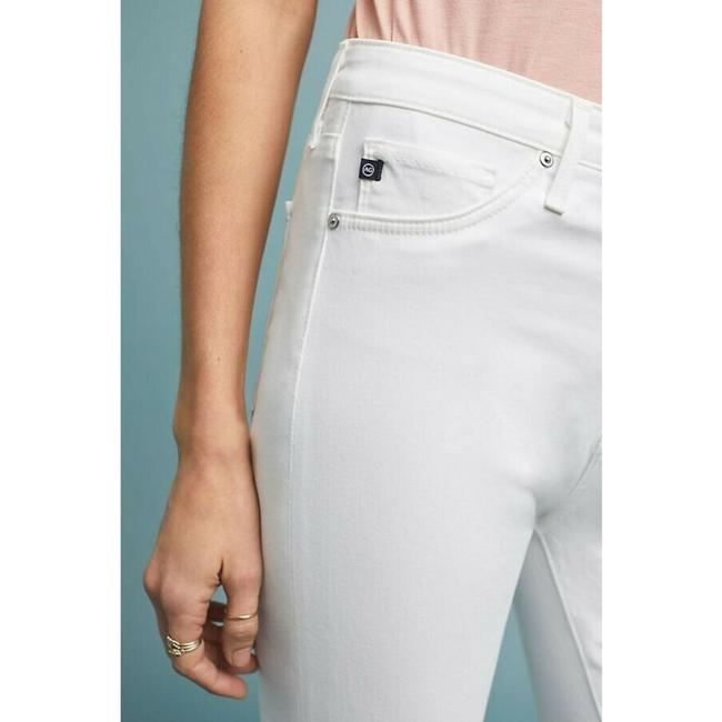 Anthropologie High-rise Ankle Jeans Skinny Pants White Image 4
