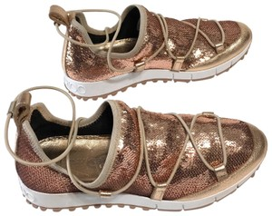 Jimmy Choo rose gold Athletic