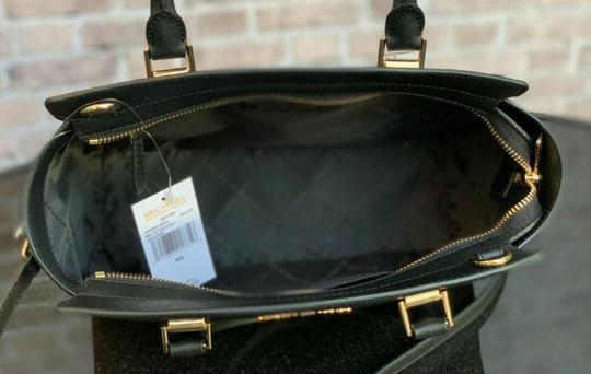 Michael Kors Crossbody Mk Satchel in Black Image 7