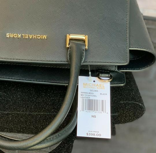 Michael Kors Crossbody Mk Satchel in Black Image 8