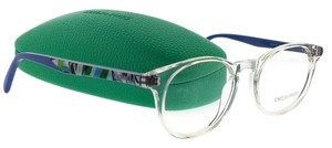 Emilio Pucci EP5018-026-48 Eyeglasses Size 48mm 18mm 140mm Crystal Blue