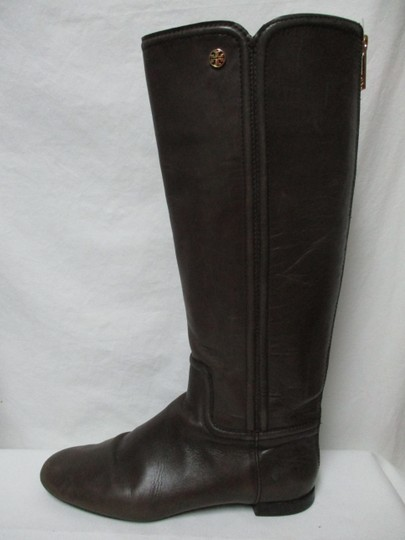 Tory Burch Leather Riding Size8 brown Boots Image 11