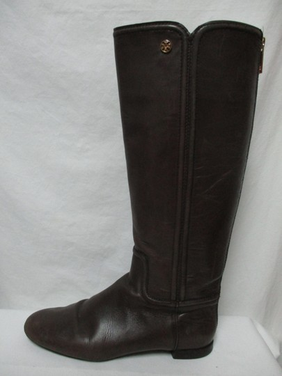 Tory Burch Leather Riding Size8 brown Boots Image 2