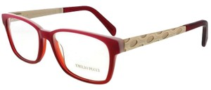 Emilio Pucci EP5026-074-54 Eyeglasses Size 54mm 16mm 140mm Red
