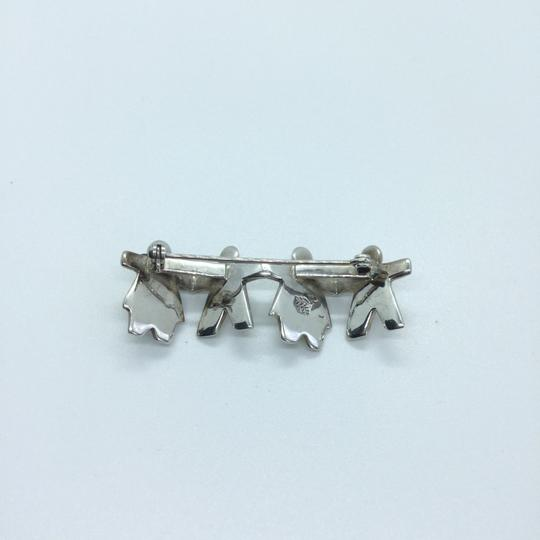 Silpada CHILDREN HOLDING HANDS STERLING SILVER PIN BROOCH Retired 10394 Image 5
