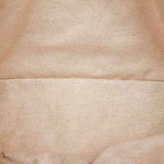 Gucci Monogram Gg Beige Leather Tote in Pink Image 7