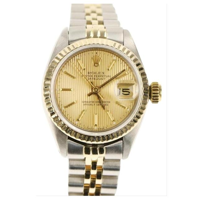 Item - Silver and Yellow Gold Datejust Watch