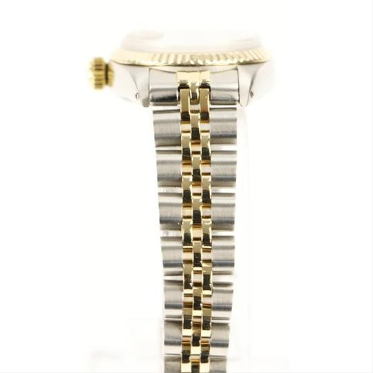 Rolex Rolex Silver and Yellow Gold Datejust Watch Image 2