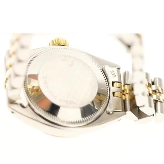 Rolex Rolex Silver and Yellow Gold Datejust Watch Image 7