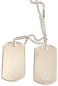 Gucci Dog tag necklace, or use one as keychain
