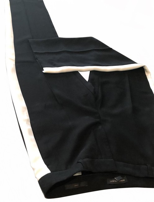 Item - Black with White Stripe Pants Size 8 (M, 29, 30)
