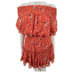 MISA Los Angeles short dress Red on Tradesy