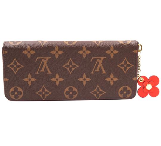 Louis Vuitton RARE Monogram flowers Zippy Large Long zip around Wallet organizer Image 2