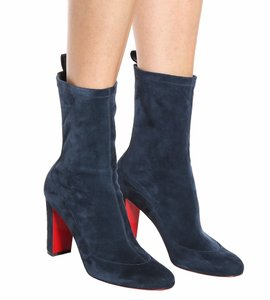 Christian Louboutin Stretch blue Boots