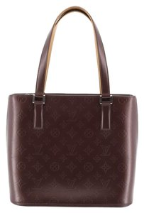 Louis Vuitton Stockton Monogram Satchel in purple