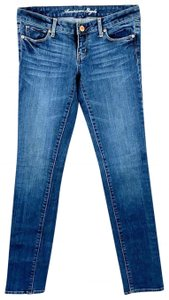 Aéropostale Low-rise Stretchy Skinny Jeans-Distressed