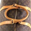 Louis Vuitton Keepall Monogram Canvas brown Travel Bag Image 4