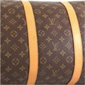 Louis Vuitton Keepall Monogram Canvas brown Travel Bag Image 5
