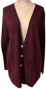 Eileen Fisher Viscose Sweater Cardigan