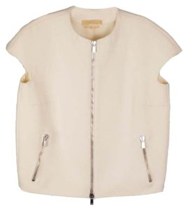 Michael Kors Collection Cream Vest