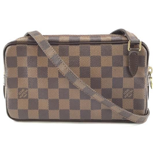 Preload https://img-static.tradesy.com/item/25976536/louis-vuitton-pochette-messenger-marly-32338-bandouliere-long-strap-shoulder-brown-damier-ebene-canv-0-0-540-540.jpg