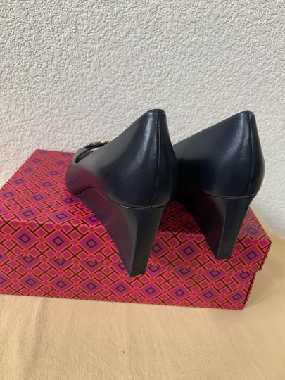 Tory Burch Blue ( Navy ) Wedges Image 7