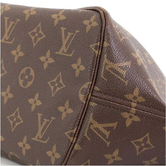 Louis Vuitton Neverfull Tote in brown Image 6