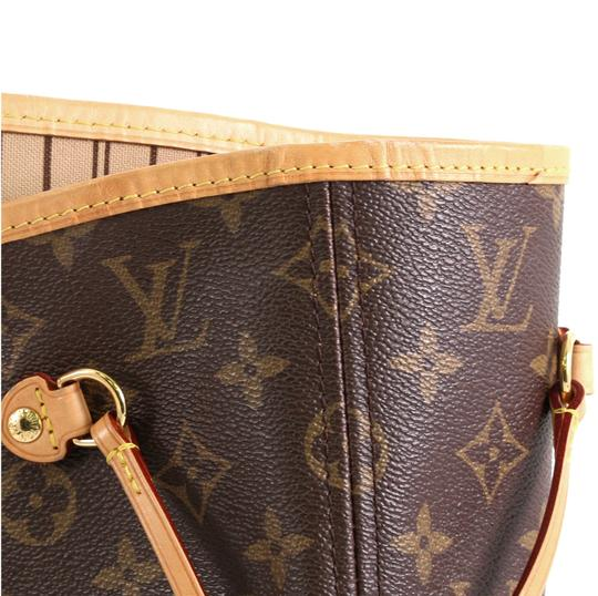 Louis Vuitton Neverfull Tote in brown Image 8