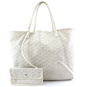 Goyard Canvas Tote St. Louis Gm Shoulder Bag