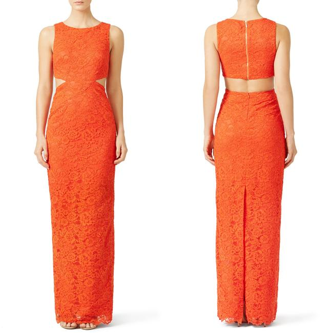 Nicole Miller Lace Gown Dress Image 1