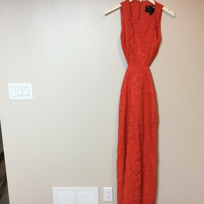 Nicole Miller Lace Gown Dress Image 6