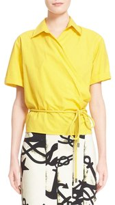 Max Mara Top Yellow