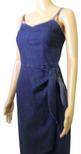 Liz Claiborne short dress Denim Jeans Wrap Mock Wrap on Tradesy