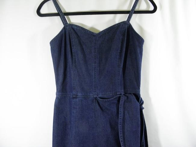 Liz Claiborne short dress Denim Jeans Wrap Mock Wrap on Tradesy Image 3
