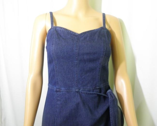 Liz Claiborne short dress Denim Jeans Wrap Mock Wrap on Tradesy Image 5