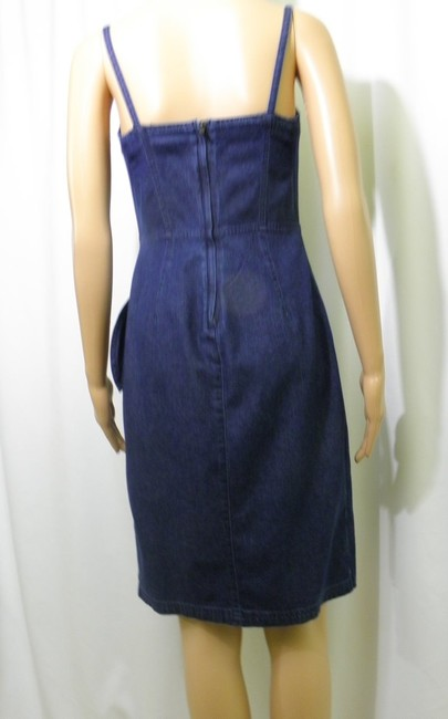 Liz Claiborne short dress Denim Jeans Wrap Mock Wrap on Tradesy Image 6