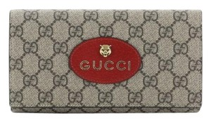 Gucci Neo Vintage Continental Wallet brown Clutch